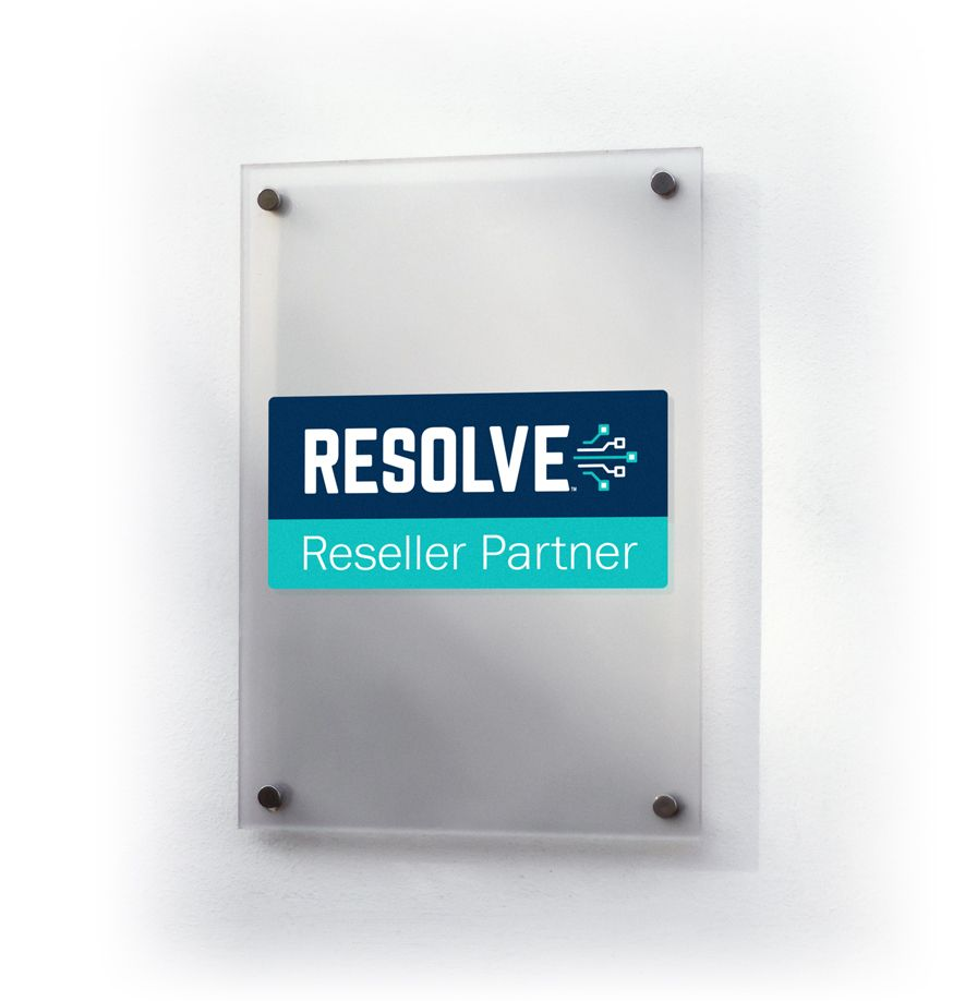Reseller sign