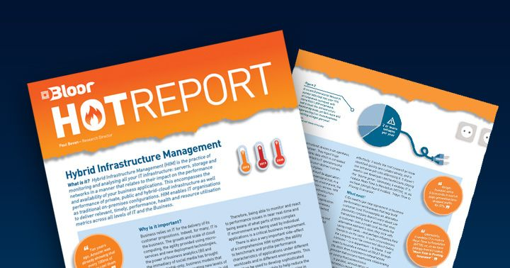 Bloor Hot Report: Hybrid Infrastructure Management
