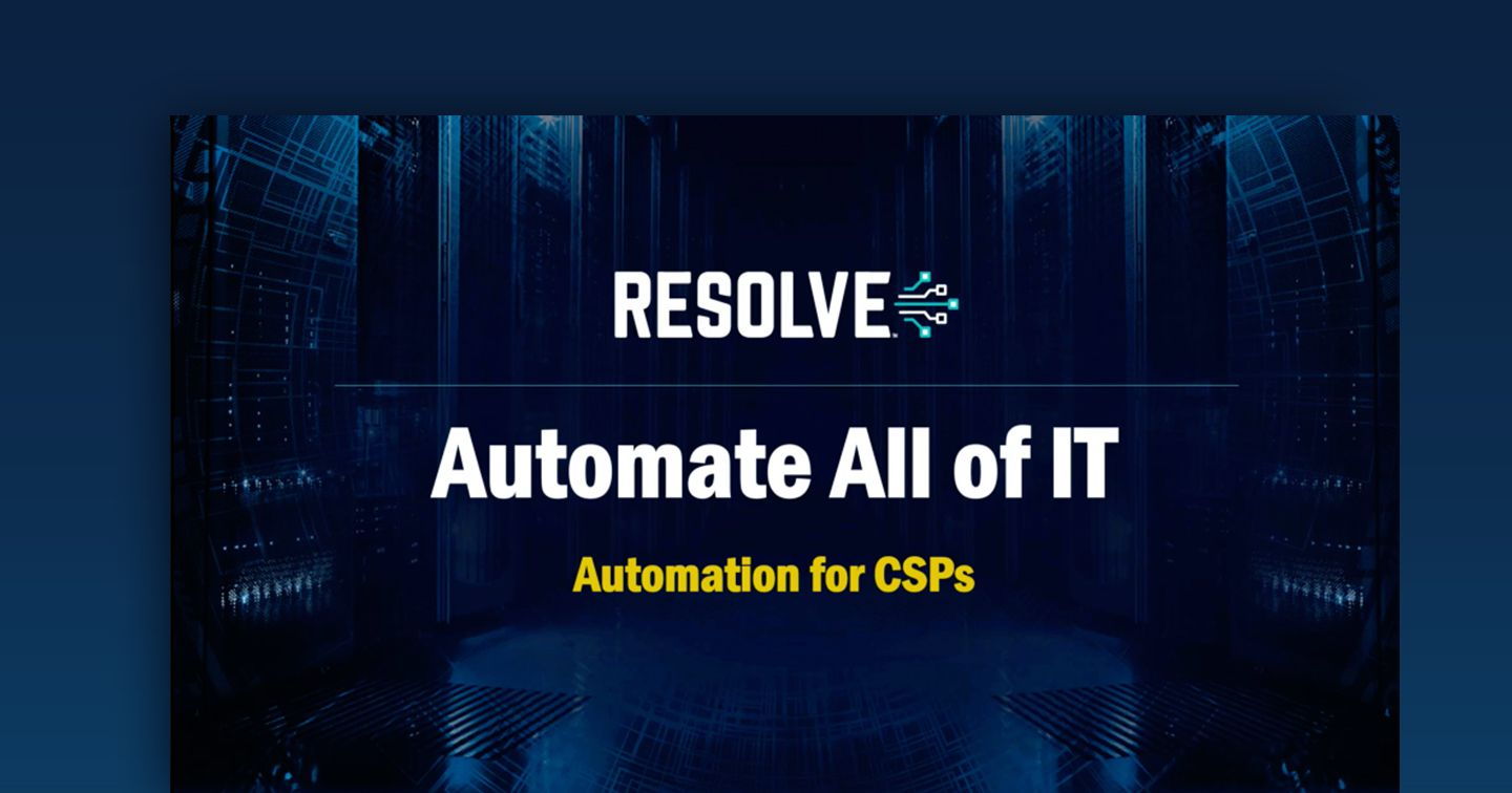 Network Automation for CSPs