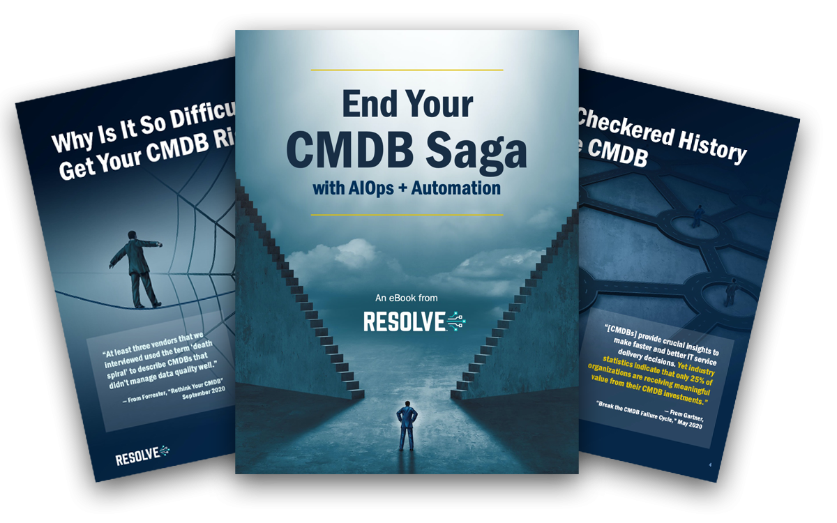 Learn How to End Your CMDB Saga with this eBook