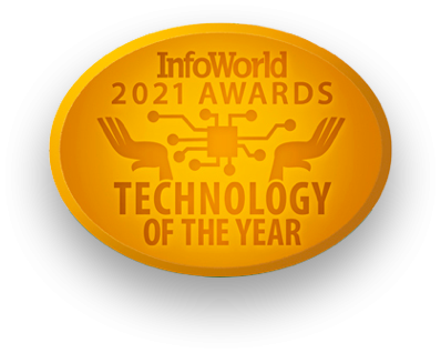 Info World 2021 Technology of the Year Award Shadow