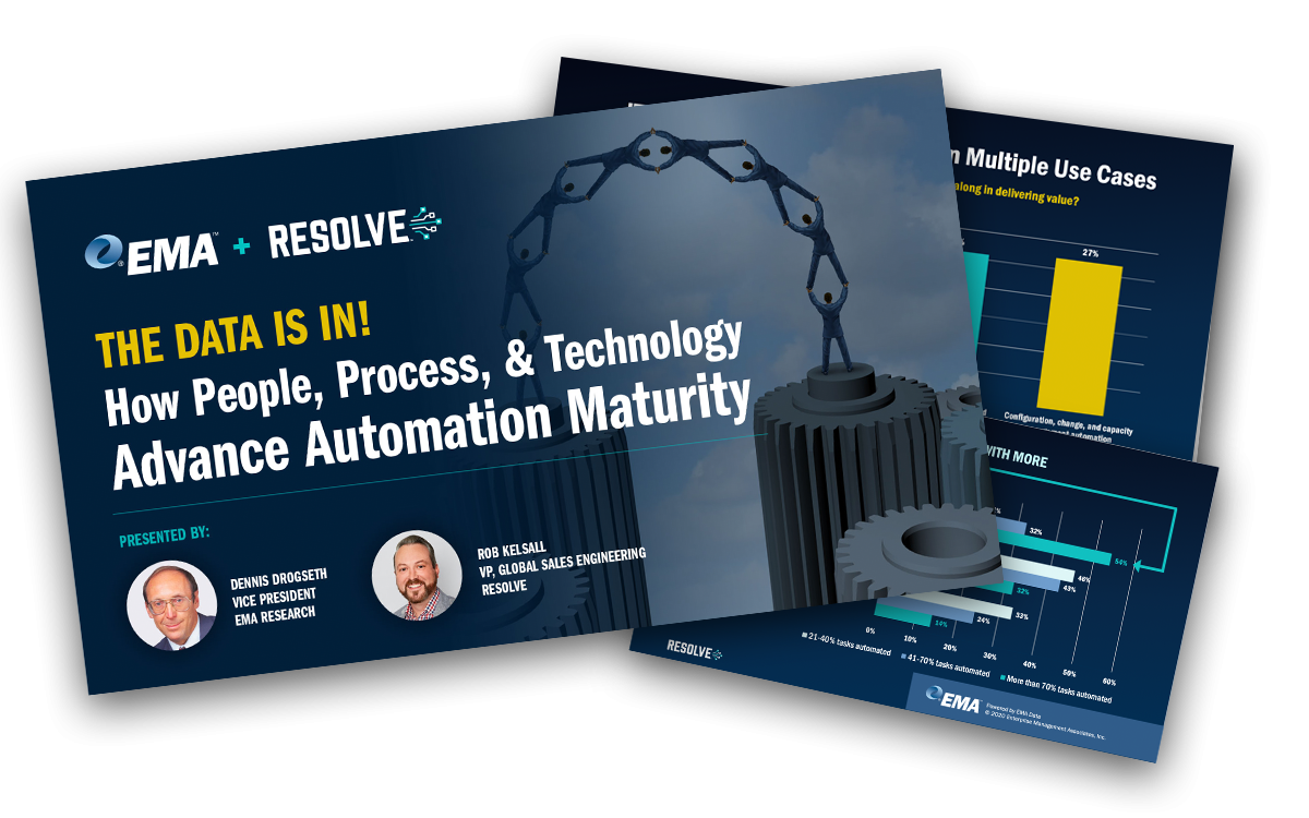 [Presentation] The Data Is In: How People, Process, & Technology Advance Automation Maturity