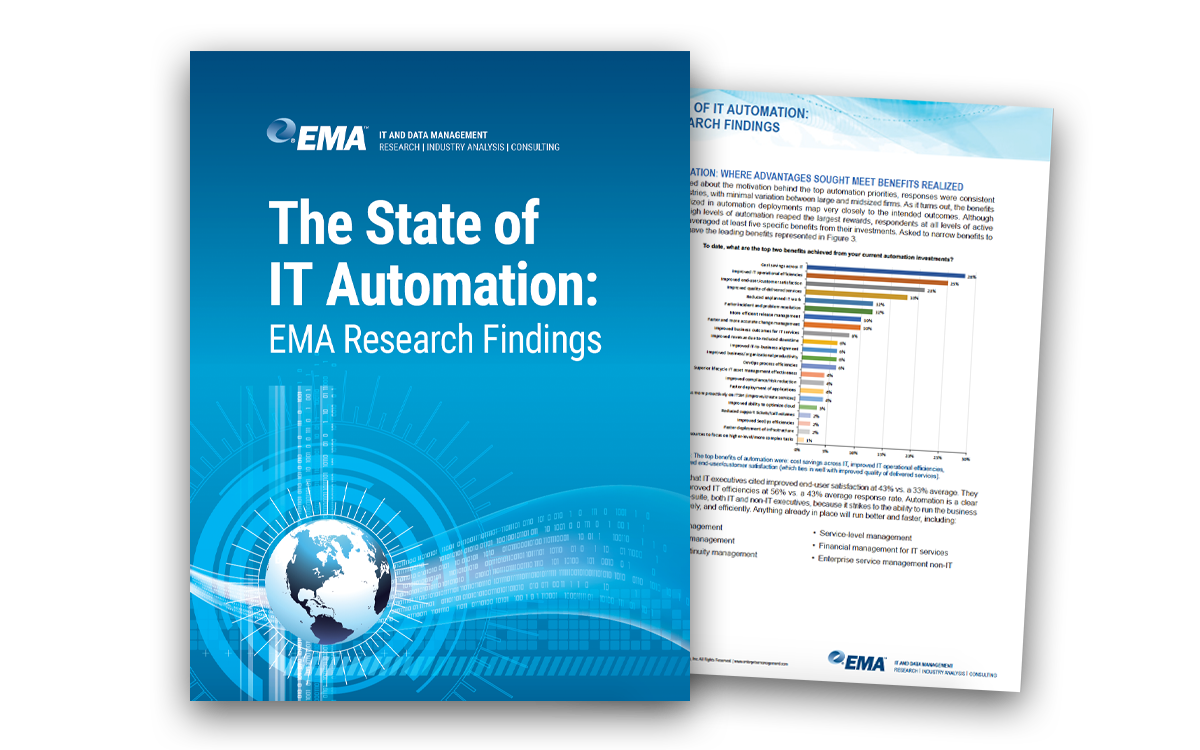 EMA Research: The State of IT Automation