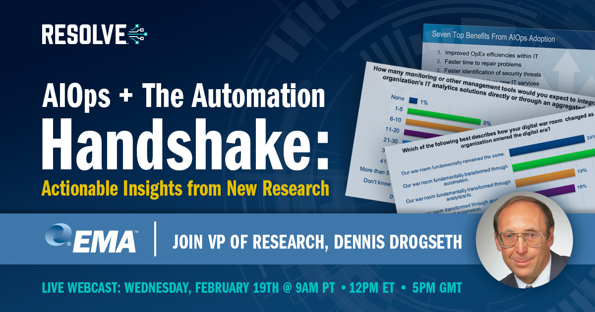EMA Research: AIOps & the Automation Handshake