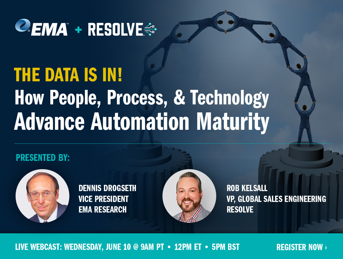 The Data Is In: How People, Process, & Technology Advance Automation Maturity