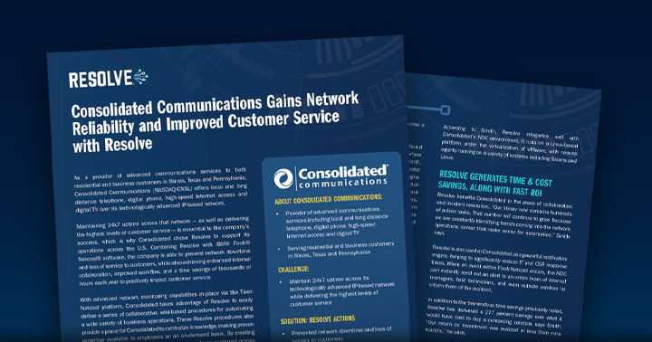 Consolidated Communications Case Study