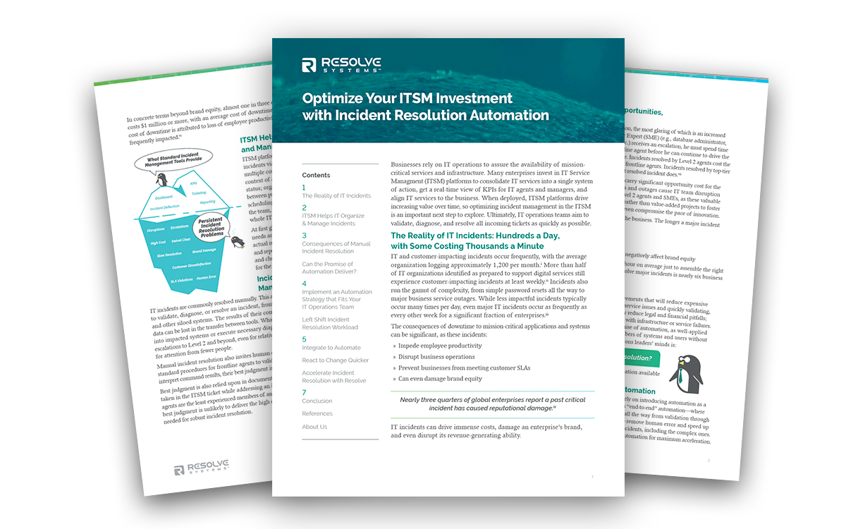 Optimize Your ITSM Investment with IT Automation